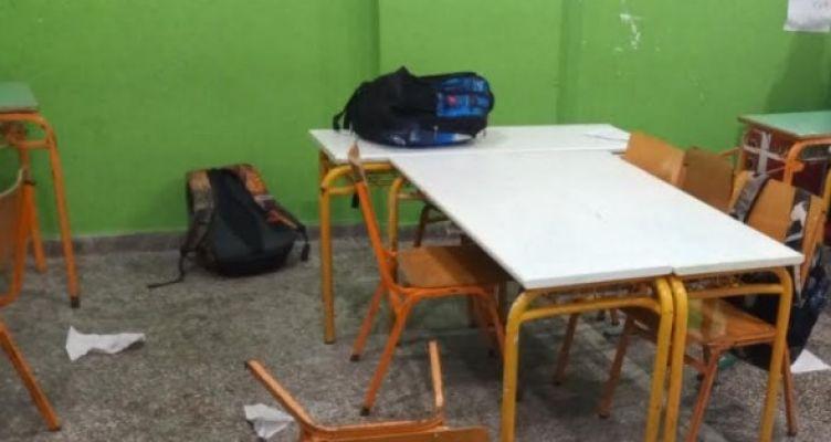 Εκτεταμένες ζημιές προκλήθηκαν στο 4ο Δημοτικό Σχολείο Αγρινίου