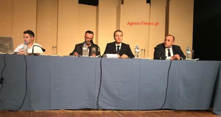 Αγρίνιο: Κοσμοσυρροή στην εκδήλωση της «Ένωσης» για την ενέργεια (Φωτό)