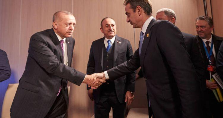 Μητσοτάκης – Ερντογάν: Οι πρώτες εικόνες από την κρίσιμη συνάντηση