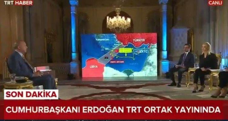 Ερντογάν: Οι χάρτες με τις γεωτρήσεις ανοιχτά της Κρήτης και τη «νέα» τουρκική υφαλοκρηπίδα