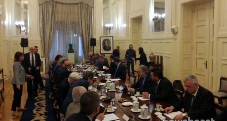 Εθνικό Συμβούλιο Εξωτερικής Πολιτικής: «Υπάρχει κοινό μέτωπο για το θέμα της Τουρκίας»