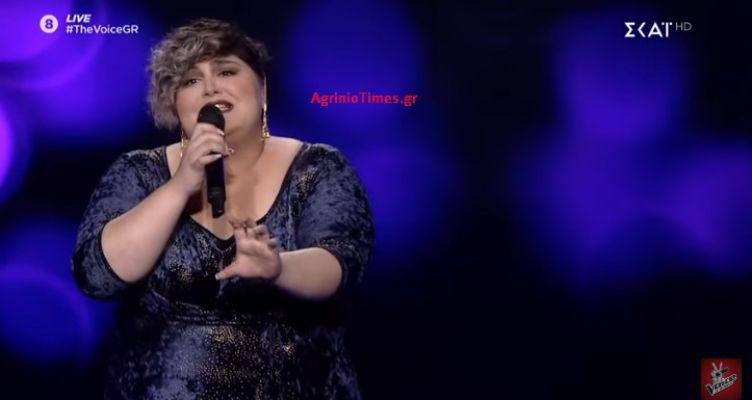 «The Voice»: Με 55% στους Ημιτελικούς η Αγρινιώτισσα Κων. Υφαντή! (Βίντεο – Φωτό)