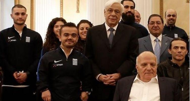 Ο Δημήτρης Μπακοχρήστος για την παρουσία του στο Προεδρικό Μέγαρο