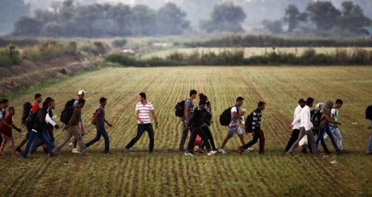 300 παράνομοι μετανάστες περνούν τον Έβρο καθημερινά με αδιάβροχα!