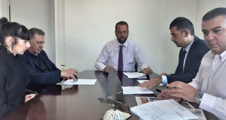 Υπογραφή συμβάσεων Π.Ε. Αιτωλοακαρνανίας