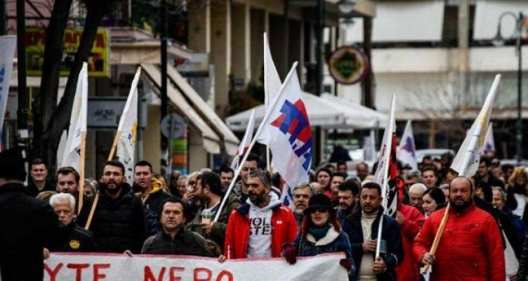 Απ' όλη την Ήπειρο τη Λευκάδα τη Βόνιτσα στο αντιπολεμικό συλλαλητήριο στην Πρέβεζα
