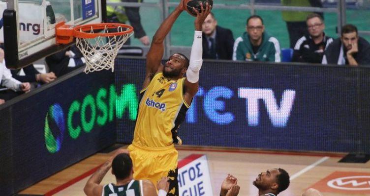 Basket League: Η Α.Ε.Κ. επικράτησε του Παναθηναϊκού με 100-97 στο Ο.Α.Κ.Α.!