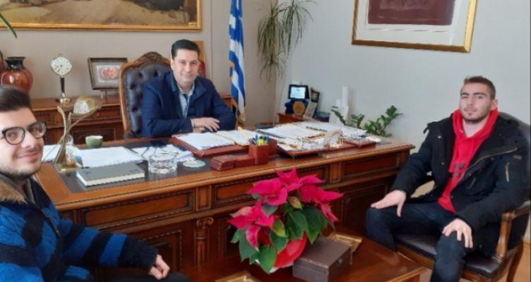 Αγρίνιο: Συνάντηση Παπαναστασίου με τους φοιτητές του Δ.Π.Π.Ν.Τ.