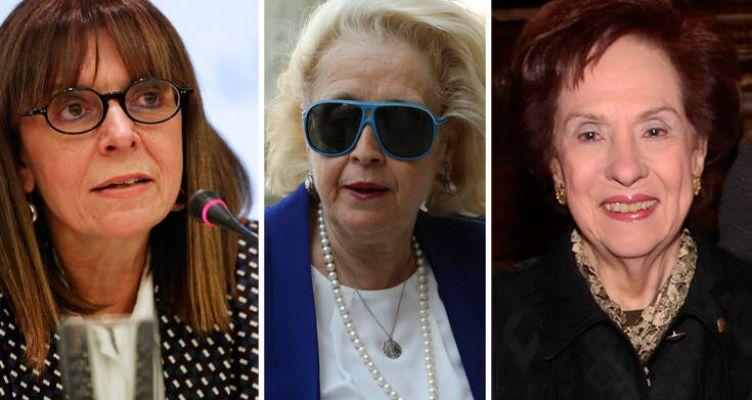 Σακελλαροπούλου: Τι την ενώνει με τη Βασιλική Θάνου και την Άννα Ψαρούδα-Μπενάκη