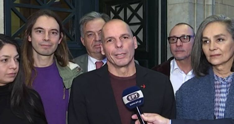 ΜέΡΑ25: Ο Γιάνης Βαρουφάκης προτείνει τη Μάγδα Φύσσα για ΠτΔ (Βίντεο)