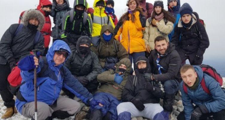 Χειμερινή εκδρομή εφήβων Προσκόπων Αγρινίου στο Βέρμιο Ημαθίας