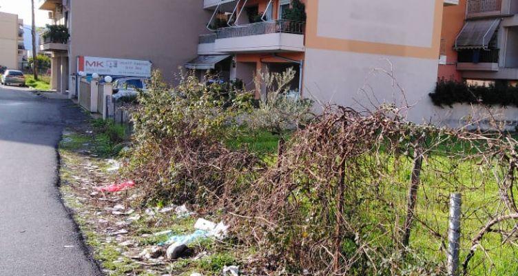 Αγρίνιο:Καταγγελία πολιτών για σκουπιδότοπους μέσα στην πόλη!