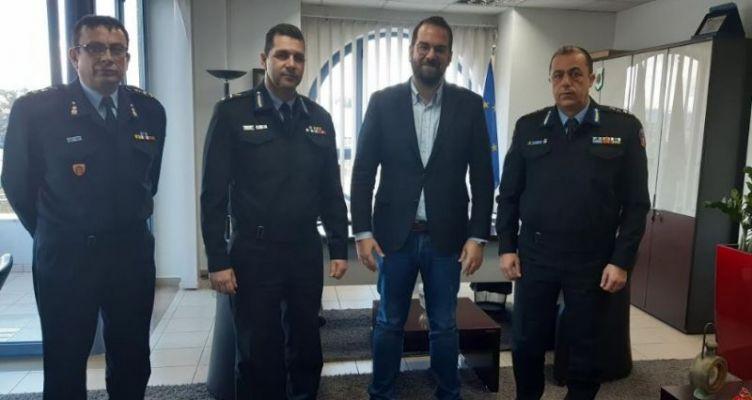 Στο Νεκτάριο Φαρμάκη η νέα ηγεσία Πυροσβεστικών Υπηρεσιών Δ. Ελλάδας