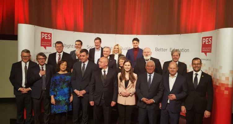 H Γεννηματά στην Προσύνοδο των ηγετών του Ευρωπαϊκού Σοσιαλιστικού Κόμματος – PES Leaders
