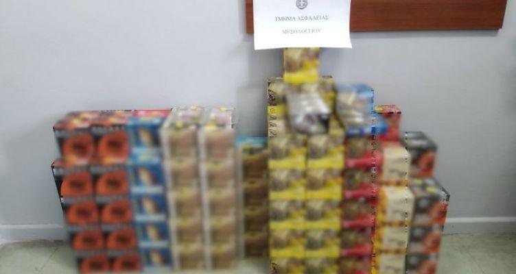 Συνελήφθη ιδιοκτήτης καταστήματος του Μεσολογγίου για παράνομο εμπόριο φυσιγγίων
