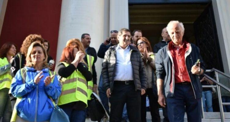 Ο Πελετίδης στο Δικαστήριο υπερασπίστηκε το δικαίωμα των εργαζομένων στην δουλειά