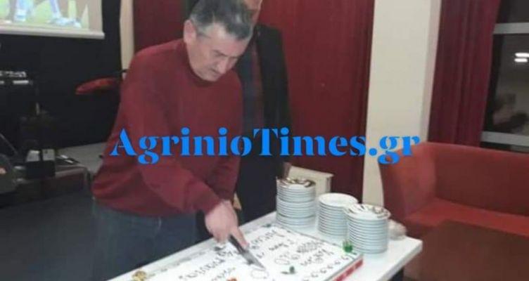AgrinioTimes.gr & AgrinioTimesTV στην κοπή πίτας του Συλλόγου Προπονητών Αιτ/νίας