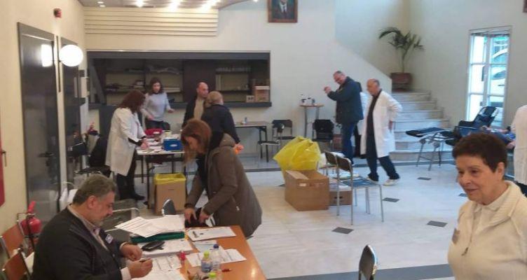 Αγρίνιο: Μεγάλη συμμετοχή στην Εθελοντική Αιμοδοσία (Φωτό)