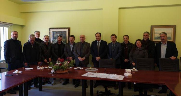 Την Σχολή Γεωπονικών Επιστημών επισκέφθηκε ο Δήμαρχος Ι.Π. Μεσολογγίου Κώστας Λύρος