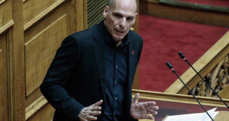 Ο Βαρουφάκης κατέθεσε στη Βουλή φάκελο με ηχογραφήσεις από τα Eurogroup του 2015