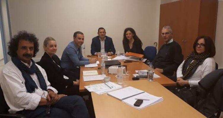 Συνάντηση εργασίας του Θ. Βασιλόπουλου για τα έργα εδαφικής συνεργασίας