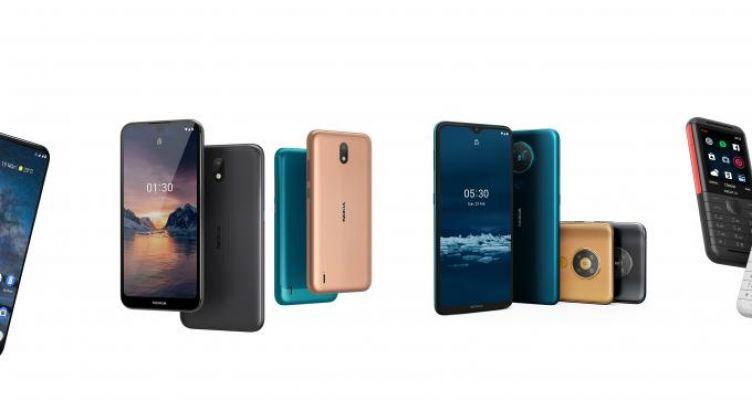 Αποκαλύφθηκε το 5G smartphone της Nokia και άλλα μοντέλα