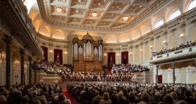 Μουσική από τις μεγάλες αίθουσες συναυλιών της Ευρώπης live στο facebook