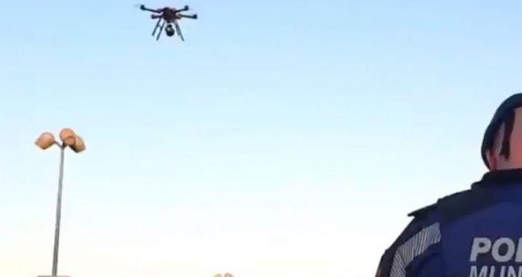 Κορωνοϊός – Ισπανία: Drones καλούν τους πολίτες να κλειστούν στα σπίτια τους