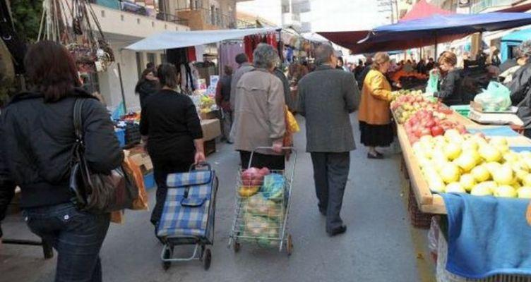 Αναστέλλονται μέχρι νεοτέρας οι Λαϊκές Αγορές Αμφιλοχίας και Λουτρού
