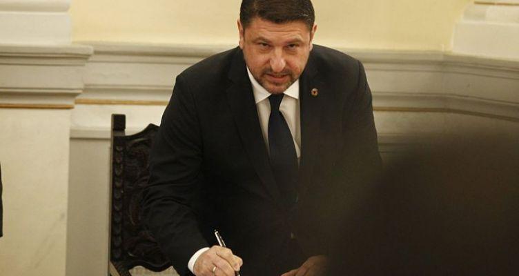 Ορκίστηκε υφυπουργός Πολιτικής Προστασίας και Διαχείρισης Κρίσεων o N. Χαρδαλιάς