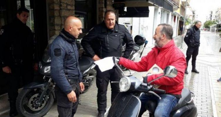 Πρόστιμα στο Μεσολόγγι για άσκοπες μετακινήσεις πολιτών