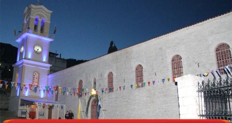 Αμφιλοχία: Live μετάδοση των Δ΄ Χαιρετισμών από τον Ιερό Ναό Αγίου Αθανασίου