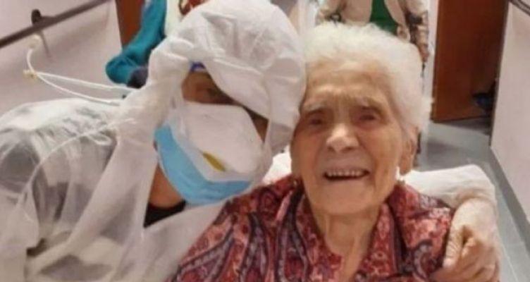 Ιταλία: Γιαγιά 104 ετών επιβίωσε από την ισπανική γρίπη και τον κορωνοϊό!