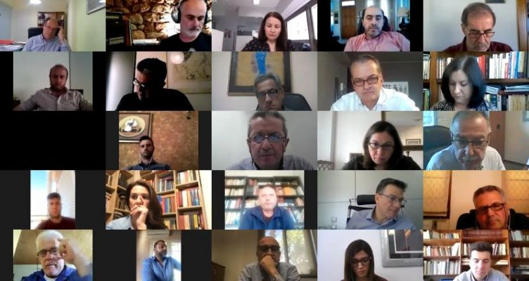 Ν.Ε.Α. ΣΥ.ΡΙΖ.Α. Αιτωλ/νίας: Τηλεδιάσκεψη για τον Τουρισμό (Βίντεο)