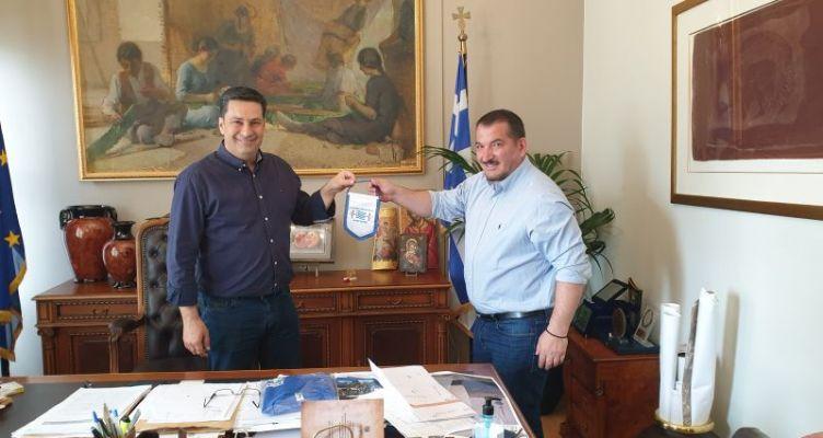 Αγρίνιο: Συνάντηση Παπαναστασίου-Πύρρου Δήμα