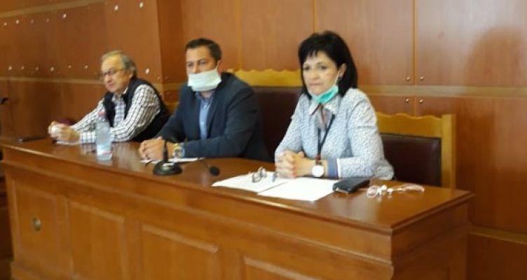 Συνάντηση Μ. Σαλμά και Θ. Βασιλόπουλου με την Ο.Α.Σ. Αιτωλ/νίας