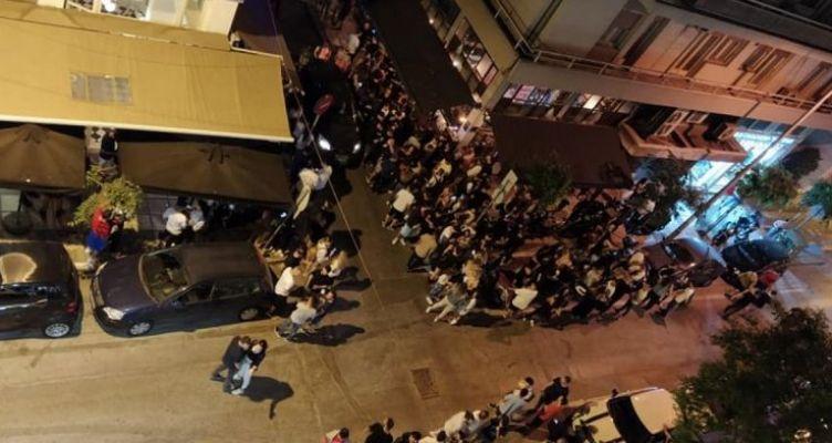 Θεσσαλονίκη: Πάρτι με μουσική… αυτοκινήτου έξω από τα μπαρ