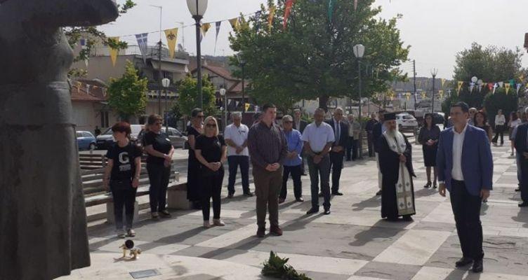 Αγρίνιο – Γ. Παπαναστασίου: Δε λησμονούμε τα θύματα της Ποντιακής Γενοκτονίας (Φωτό)