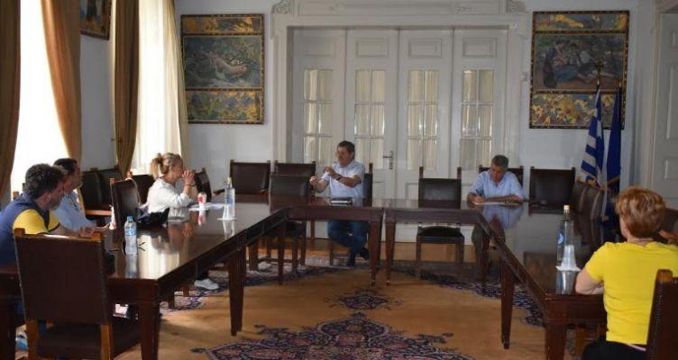 Συνάντηση Πελετίδη με κατοίκους Εργ. Κατ. Αγίου Νεκταρίου για τις αμιαντοσκεπές