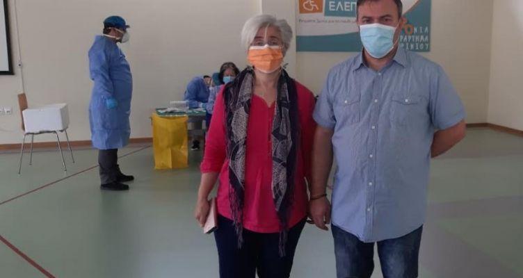 ΕΛ.Ε.Π.Α.Π. Αγρινίου: Εργαστηριακός έλεγχος σε προσωπικό και μέλη για τον ιό