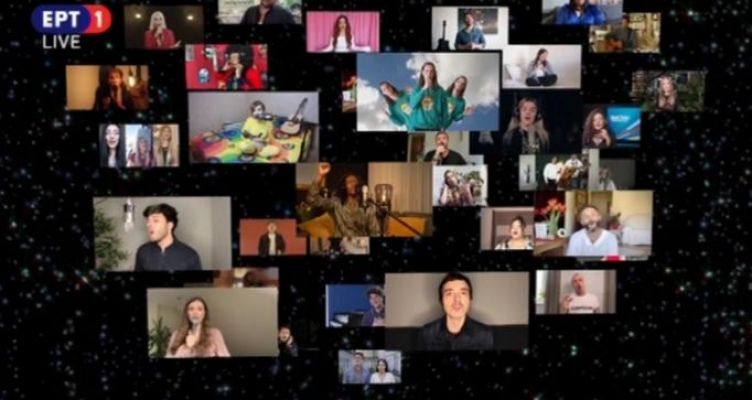 Eurovision 2020: «Love Shine A Light» τραγούδησαν όλοι οι συμμετέχοντες! (Βίντεο)