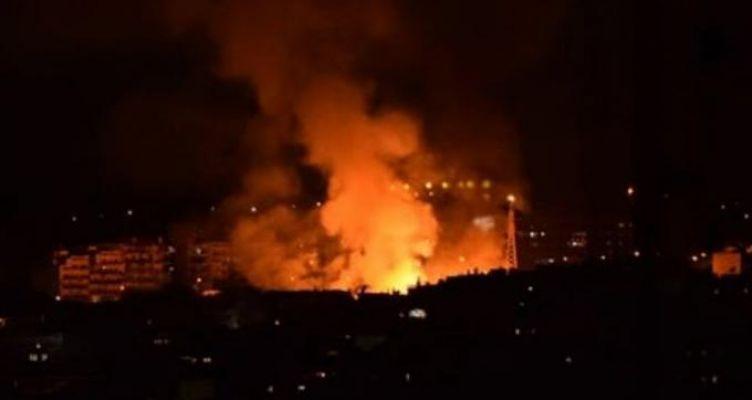 Μάχη με τις φλόγες από την Πυροσβεστική, υπό έλεγχο η φωτιά (Βίντεο)