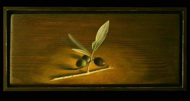 """Προσφορά του έργου """"κλαδί ελιάς"""", από τον Χ. Γαρουφαλή προς δημοπρασία υπέρ των Δομών Υγείας"""