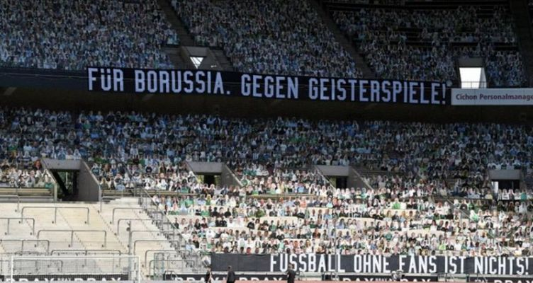 Υπό την… παρουσία 13 χιλιάδων «οπαδών» το ματς της Γκλάντμπαχ! (Φωτό)