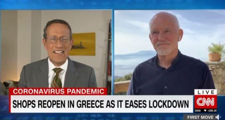 Συνέντευξη Παπανδρέου στο CNN για την Ελλάδα και την Ευρώπη μετά τον ιό