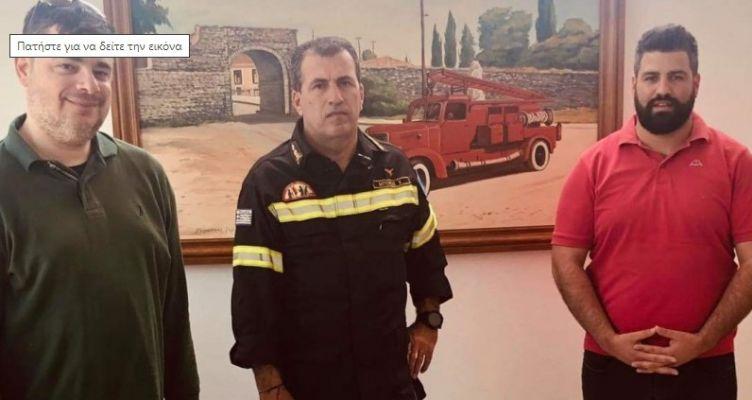 ΔΗΜ.ΤΟ. Ι.Π. Μεσολογγίου: Δωρεά υγειονομικού υλικού στο πυροσβεστικό σώμα