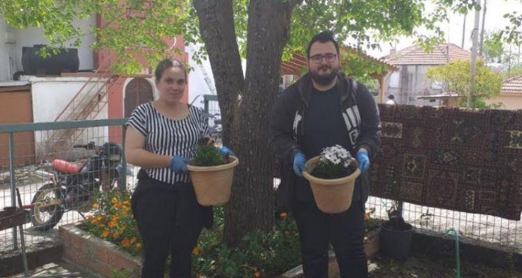 Σαργιάδα: Εθελοντικές δραστηριότητες καθαρισμού και φύτευσης ανθών