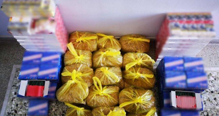 Η ΕΛ.ΑΣ. για τη σύλληψη διακινητή λαθραίων καπνικών προϊόντων στην Αιτωλοακαρνανία