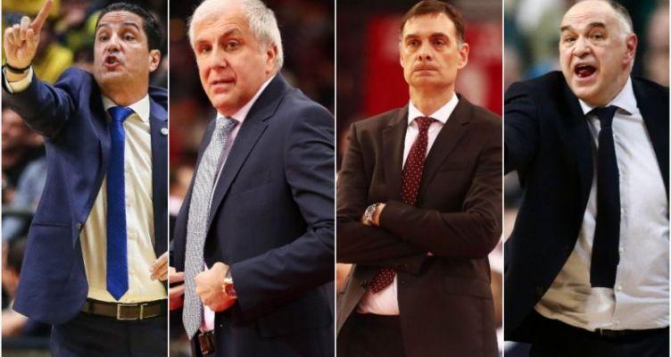 Τι ισχύει με τα συμβόλαια των προπονητών της EuroLeague Basketball