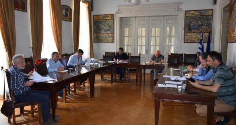Σύσκεψη Πελετίδη με τους Επικεφαλής των Δημοτικών Παρατάξεων για το Φυσικό Αέριο